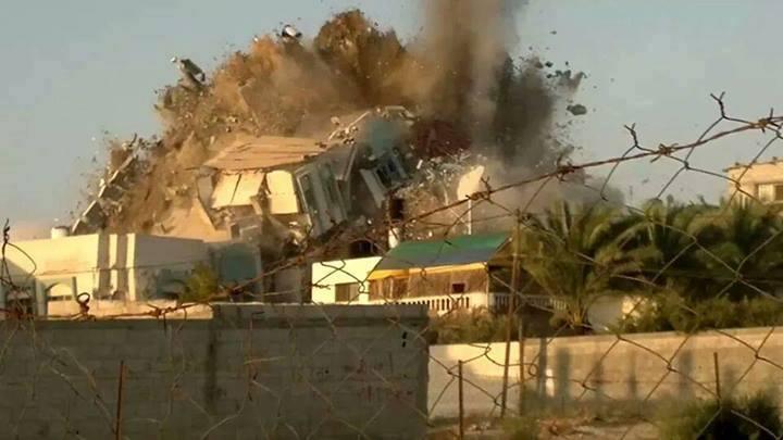 بنك الاهداف الاسرائيلي ضد غزة(1)