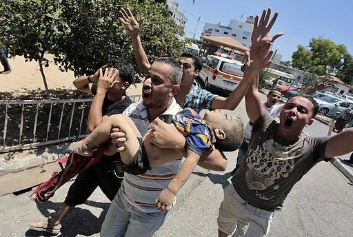 بنك الاهداف الاسرائيلي ضد غزة