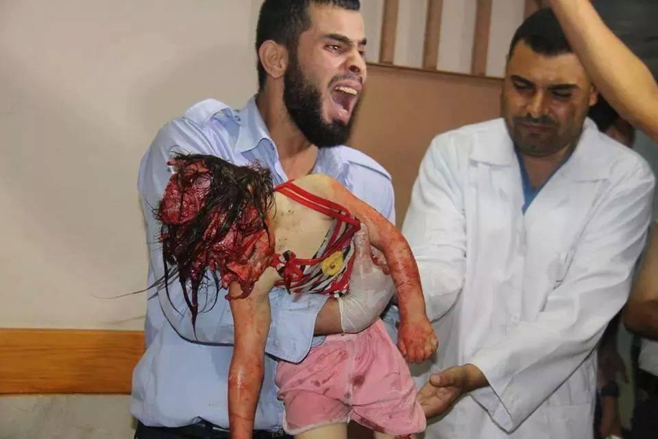 صور مجزرة حي الشجاعية غزة (1)